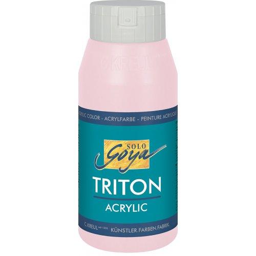 Akrylová barva TRITON SOLO GOYA 750 ml světle růžová
