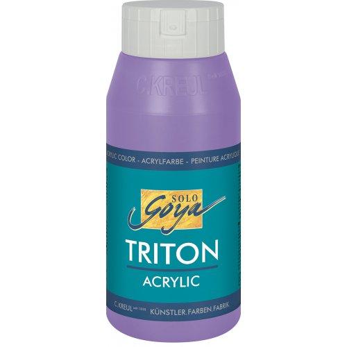 Akrylová barva TRITON SOLO GOYA 750 ml lila