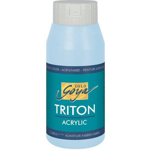 Akrylová barva TRITON SOLO GOYA 750 ml světle nebesky modrá