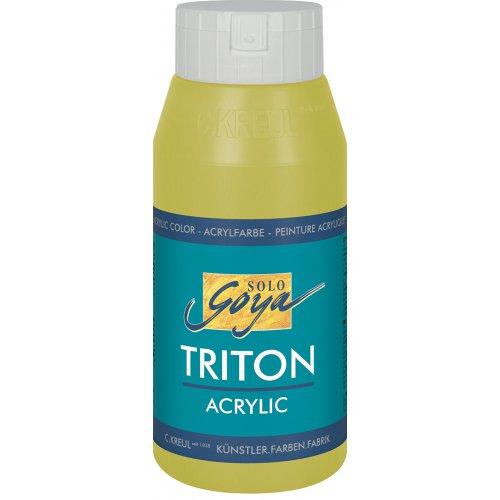 Akrylová barva TRITON SOLO GOYA 750 ml světle olivová zelená