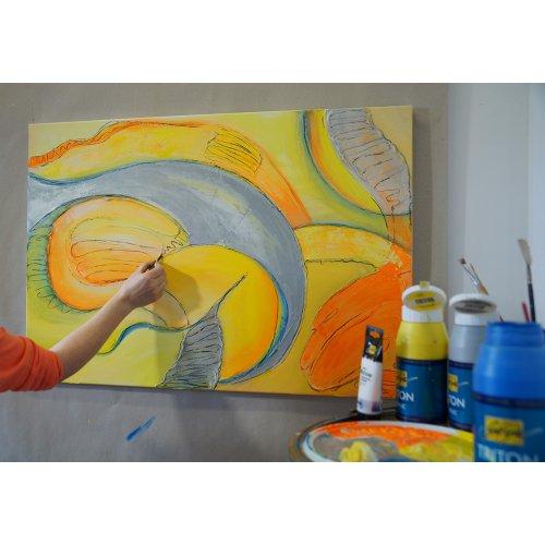 Akrylová barva TRITON SOLO GOYA 750 ml svítící oranžová - 170_SOLO_GOYA_TRITON_ACRYLIC_image2.jpg
