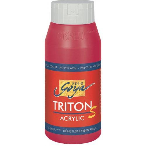 Akrylová barva TRITON SOLO GOYA LESK EFEKT 750 ml purpurová
