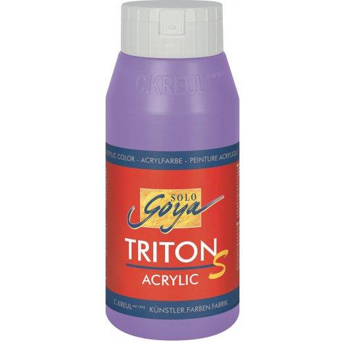 Akrylová barva TRITON SOLO GOYA LESK EFEKT 750 ml lila