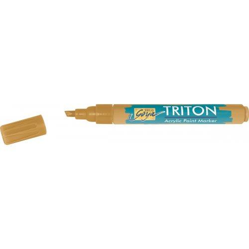 Akrylový Paint Marker TRITON SOLO GOYA 1-4 mm světle okrová