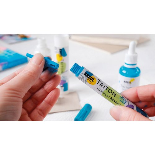 Akrylový Paint Marker TRITON SOLO GOYA 1-4 mm světle modrá - Triton Acrylic Paint Marker_image14.jpg