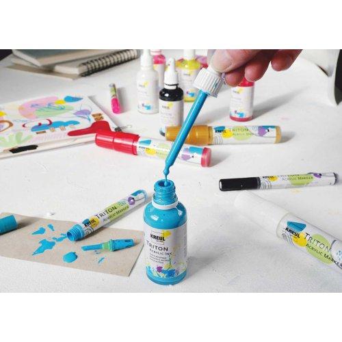 Akrylový Paint Marker TRITON SOLO GOYA 1-4 mm světle modrá - Triton Acrylic Paint Marker_image23.jpg