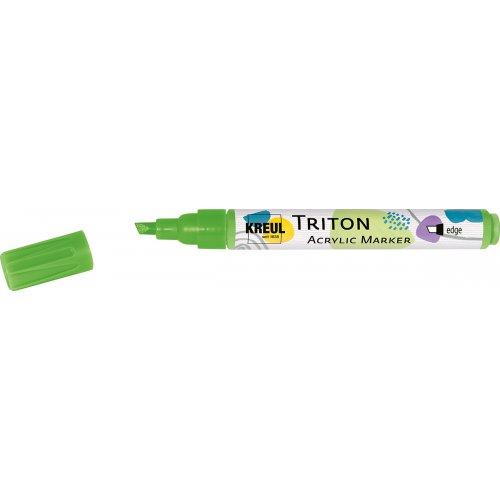 Akrylový Paint Marker TRITON SOLO GOYA 1-4 mm svítící zelená
