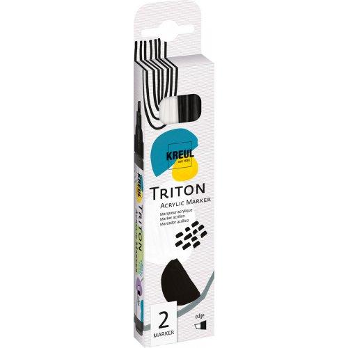 Sada Paint Marker TRITON SOLO GOYA 1-4 mm černá + bílá