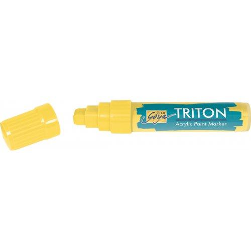 Akrylový Paint Marker TRITON SOLO GOYA 15 mm světle žlutá