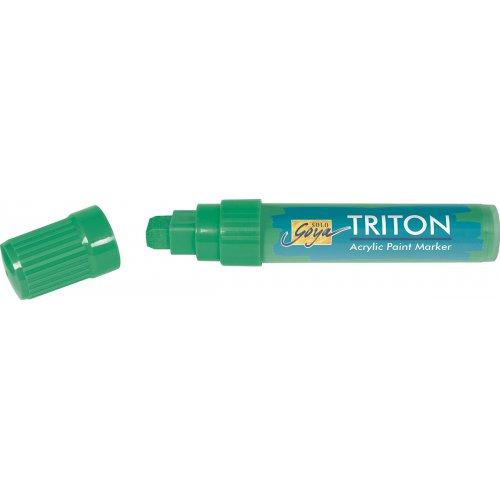 Akrylový Paint Marker TRITON SOLO GOYA 15 mm pernamentní zelená
