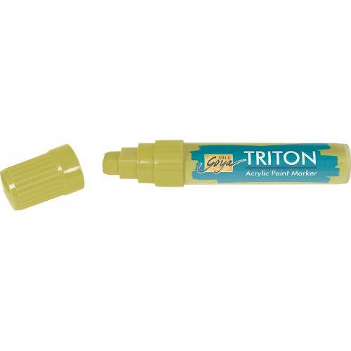 Akrylový Paint Marker TRITON SOLO GOYA 15 mm světlá olivová zelená