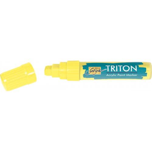Akrylový Paint Marker TRITON SOLO GOYA 15 mm svítící žlutá