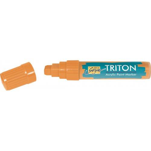 Akrylový Paint Marker TRITON SOLO GOYA 15 mm svítící oranžová