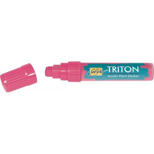 Akrylový Paint Marker TRITON SOLO GOYA 15 mm svítící růžová