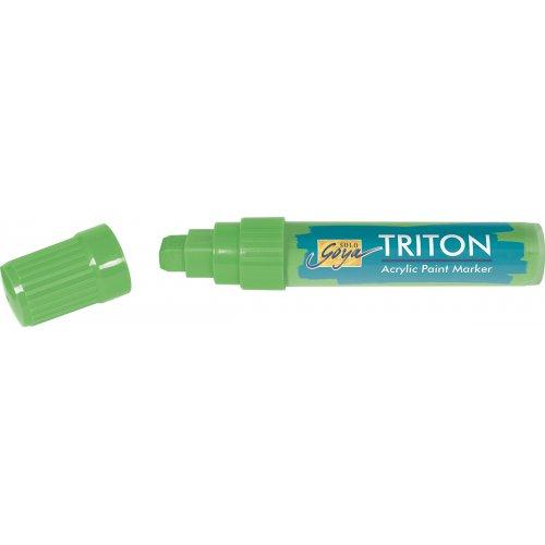 Akrylový Paint Marker TRITON SOLO GOYA 15 mm svítící zelená