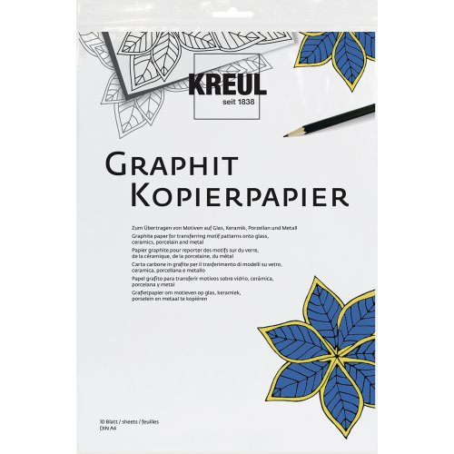 Grafitový papír pro transfer KREUL10 listů 21 x 30 cm