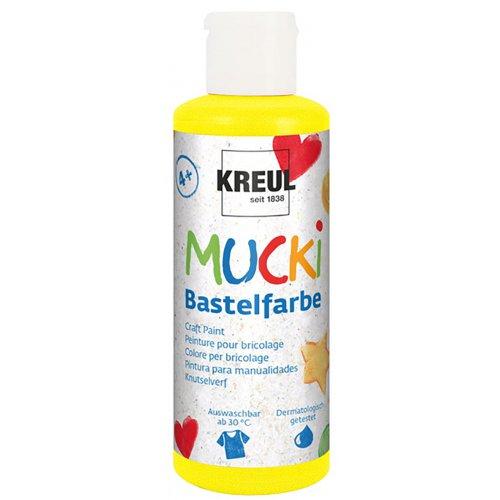 Kraft barva MUCKI žlutá 80 ml