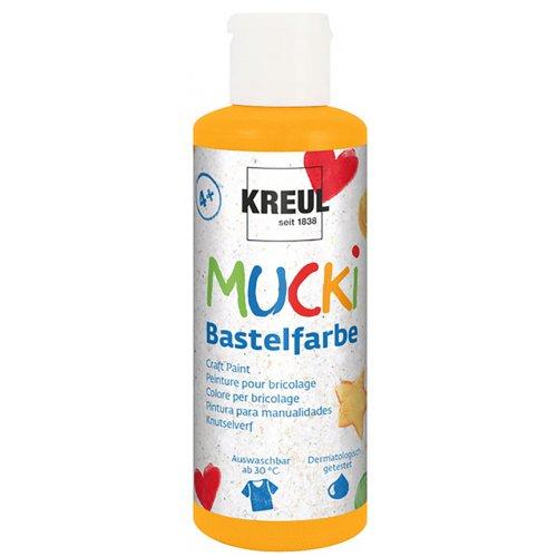 Kraft barva MUCKI oranžová 80 ml
