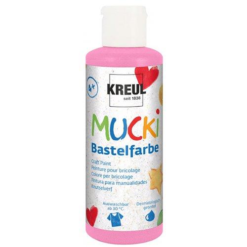 Vodová barva tekutá MUCKI růžová 80 ml