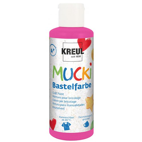 Vodová barva tekutá MUCKI tmavě růžová 80 ml