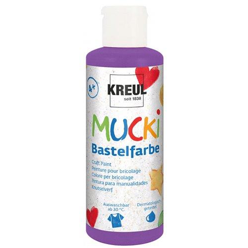 Vodová barva tekutá MUCKI fialová 80 ml