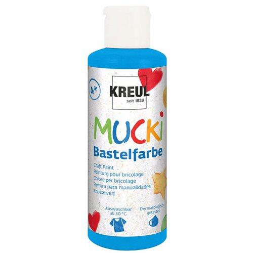 Vodová barva tekutá MUCKI modrá 80 ml