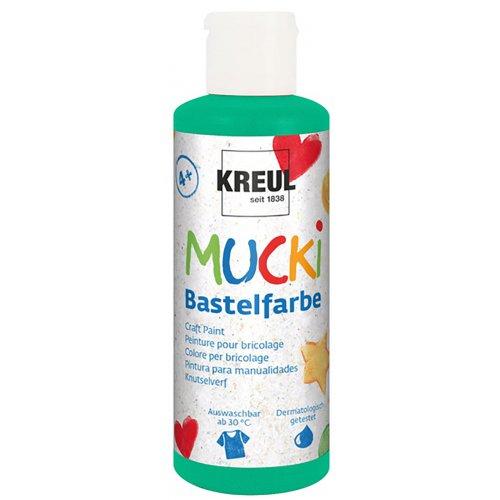 Kraft barva MUCKI zelená 80 ml
