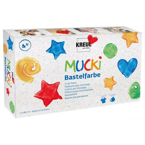 Sada Kraft barva MUCKI 6 barev po 80 ml