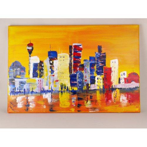 Akrylová barva EL GRECO titanová bílá 75 ml - 283_elGreco Acrylic_75 ml_FM Skyline.jpg