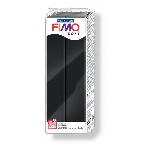 FIMO soft černá 350 g blok