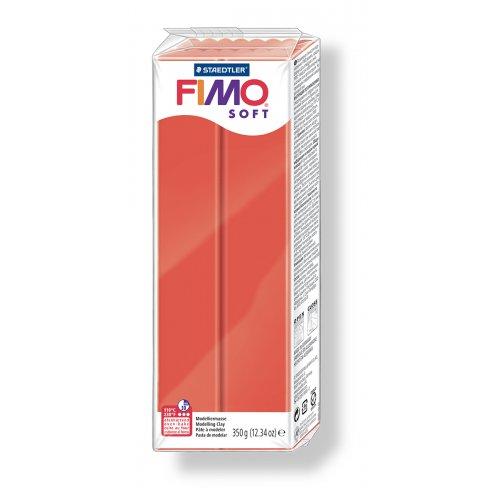 FIMO soft červená 350 g blok