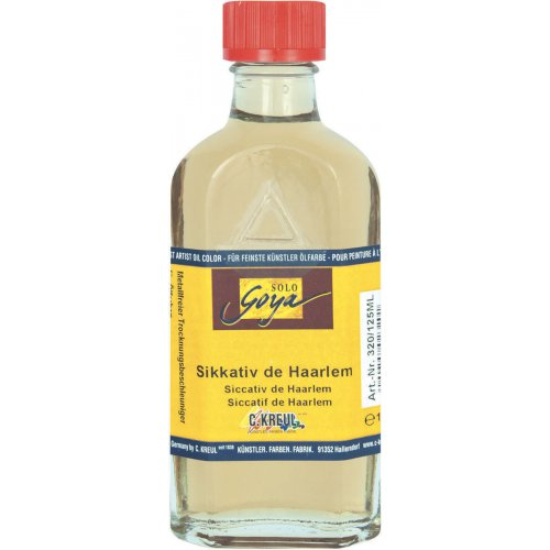 Malířské medium SOLO GOYA Sikkativ de Haarlem 125 ml