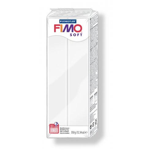 FIMO soft bílá 350 g blok