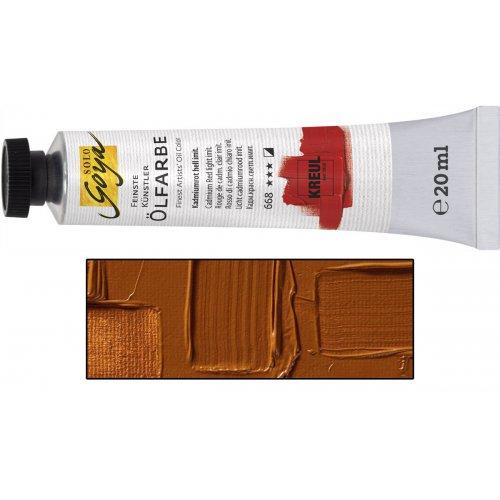 Olejová barva SOLO GOYA raw sienna v tubě 20 ml