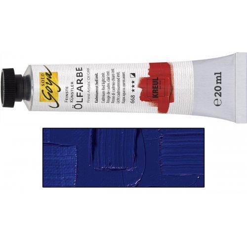 Olejová barva SOLO GOYA 20 ml ultramarínová modrá světlá
