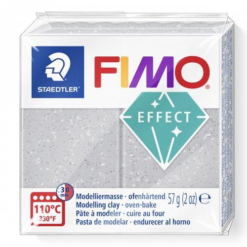 FIMO efekt stříbrná 57g