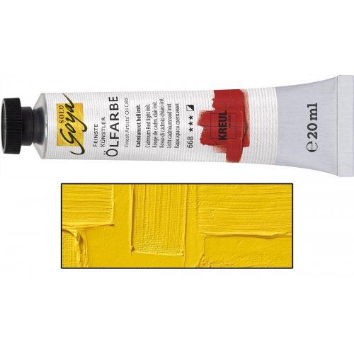 Olejová barva SOLO GOYA kadmium žlutá světlá v tubě 20 ml