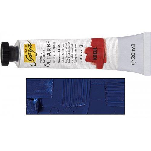 Olejová barva SOLO GOYA kobaltová modrá světlá v tubě 20 ml