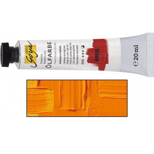 Olejová barva SOLO GOYA indiánská žlutá v tubě 20 ml