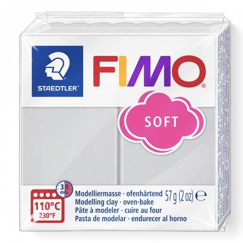 FIMO soft 57g ŠEDÁ