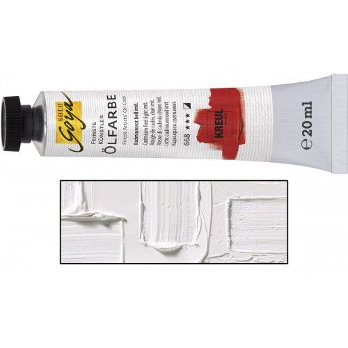 Olejová barva SOLO GOYA 20 ml bílá zinek