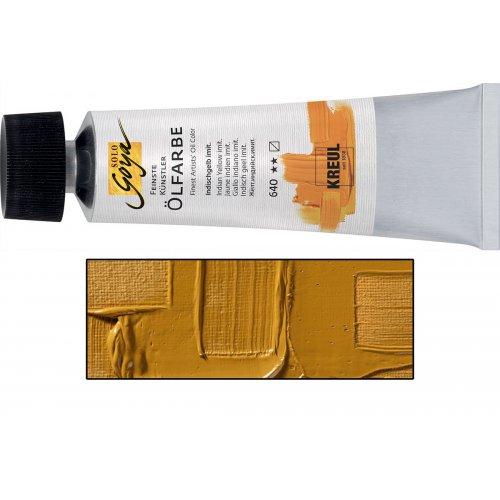 Olejová barva SOLO GOYA světle žlutý okr v tubě 55 ml