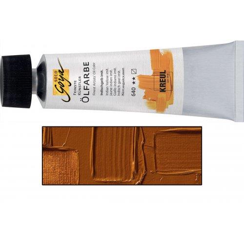 Olejová barva SOLO GOYA raw sienna v tubě 55 ml
