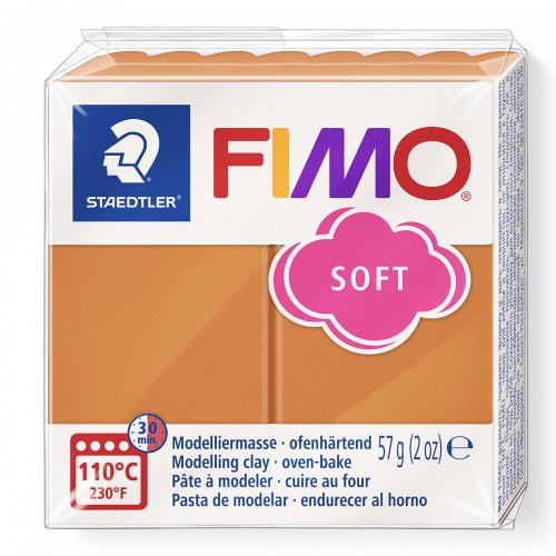 FIMO soft koňak 57g