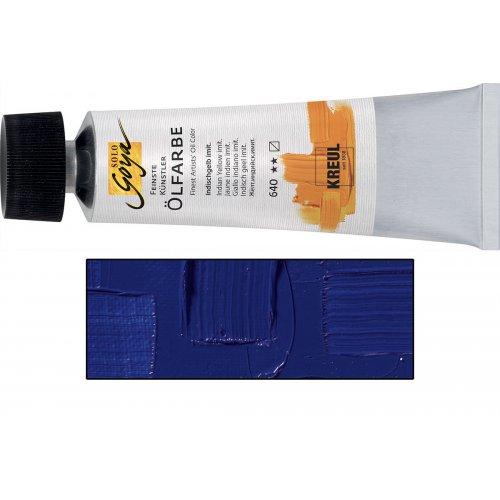 Olejová barva SOLO GOYA ultramarínová modrá světlá v tubě 55 ml