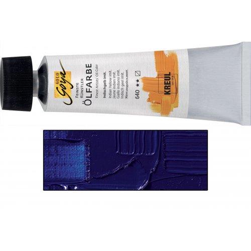 Olejová barva SOLO GOYA 55 ml ultramarínová modrá tmavá