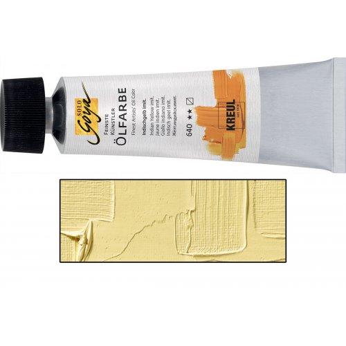 Olejová barva SOLO GOYA naples žlutá světlá v tubě 55 ml