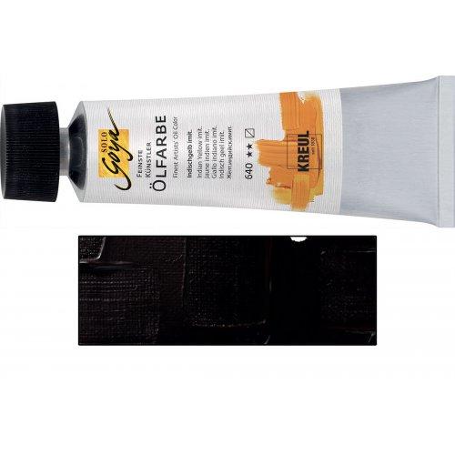 Olejová barva SOLO GOYA Vandyck hnědá bílá v tubě 55 ml