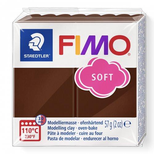 FIMO soft 57g ČOKOLÁDOVÁ