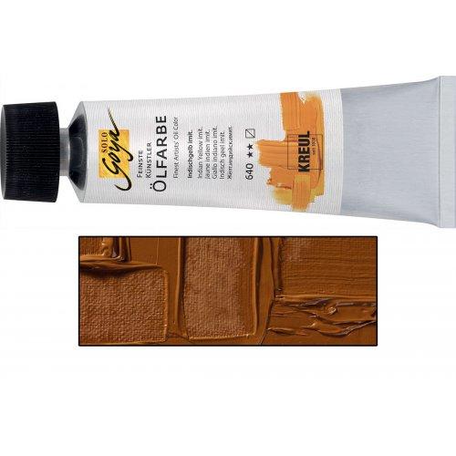 Olejová barva SOLO GOYA 55 ml tmavý okr